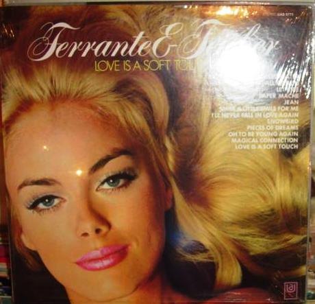 Ferrante & Teicher - Love is a soft touch - UA 1960s Sealed USA